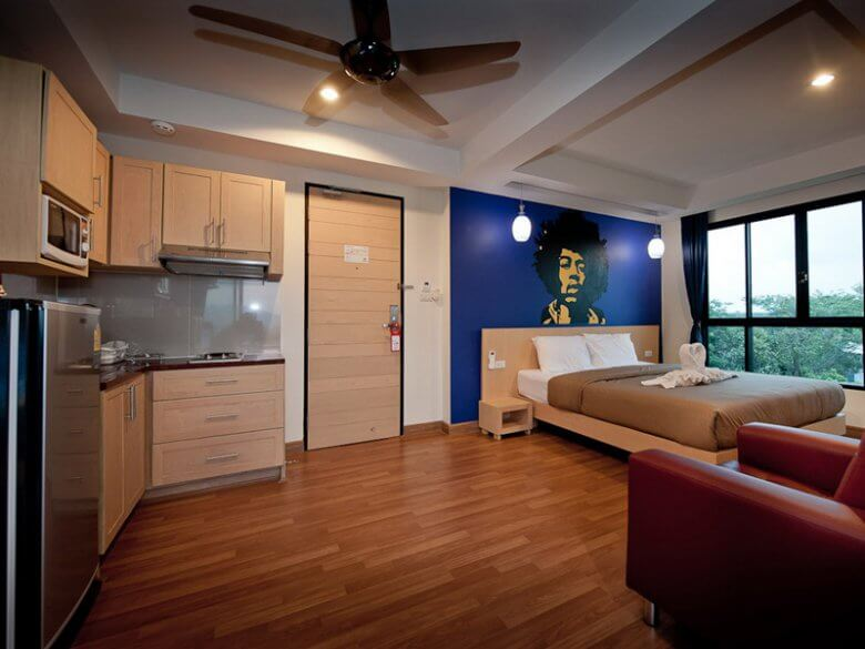 Premier package room with kitchen and great views