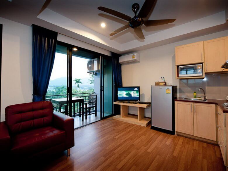 Premier package room with personal balcony
